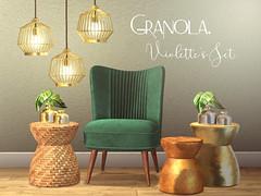 Granola. Violette's Set.