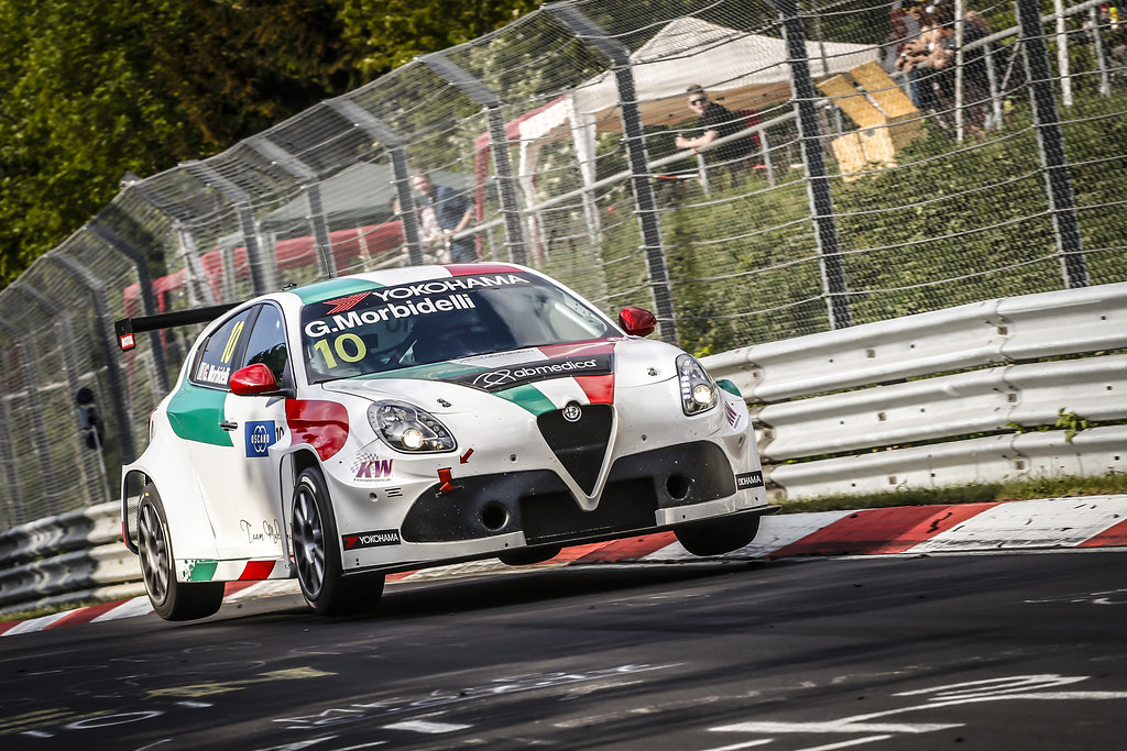 10 MORBIDELLI Gianni (ITA), Team Mulsanne, Alfa Romeo Giulietta TCR, action during the 2018 FIA WTCR World Touring Car cup of Nurburgring, Nordschleife, Germany from May 10 to 12 - Photo Francois Flamand / DPPI