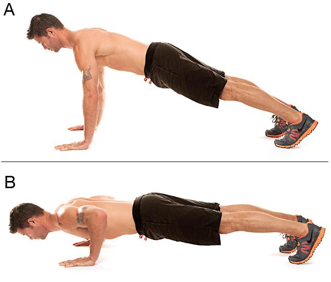Image result for posisi push up yang benar