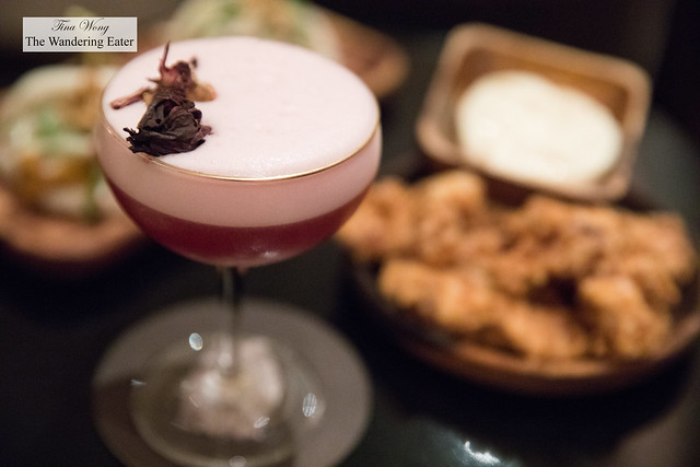 Whisky Business - Glenmorangie, Hibiscus, Lemon, Egg Whites