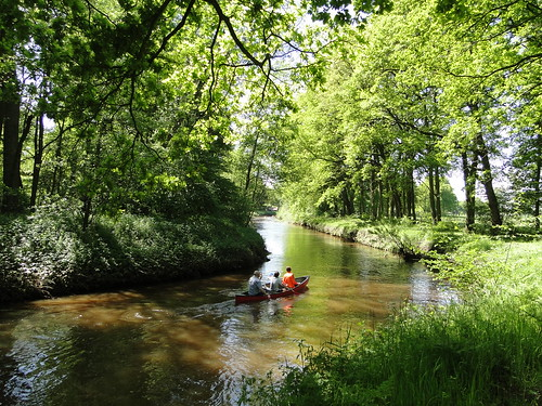 Kayaking on the Kleine Nete