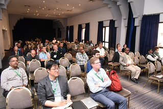 Mon, 05/07/2018 - 11:54 - Audience at the session on data management systems