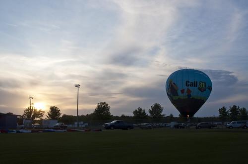fisherbray usa unitedstates alabama baldwincounty foley gulfcoasthotairballoonfestival balloon hotairballoon sportscomplex night sunset sky nikon d5000