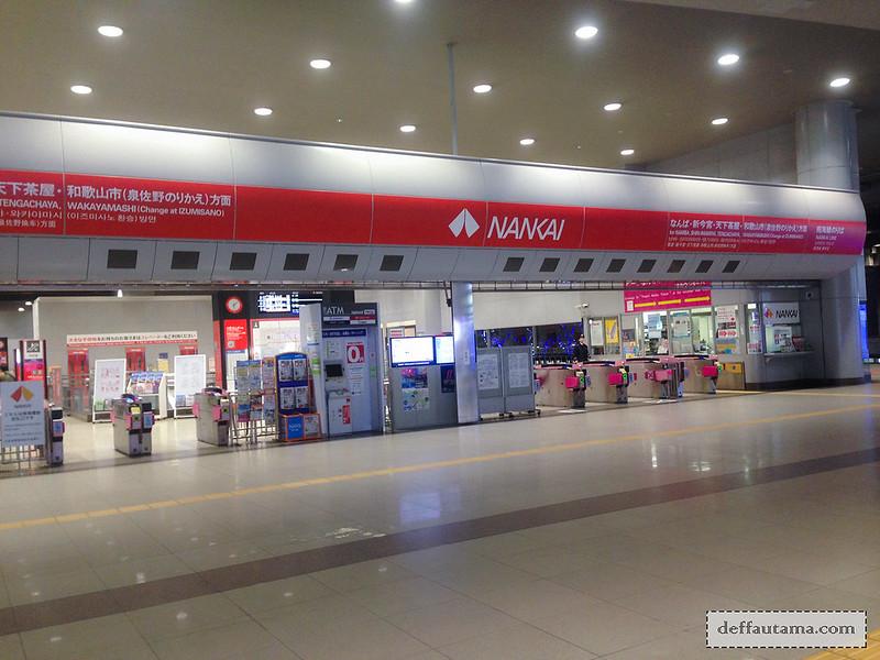 9 Hari Babymoon ke Jepang - Nankai Subway