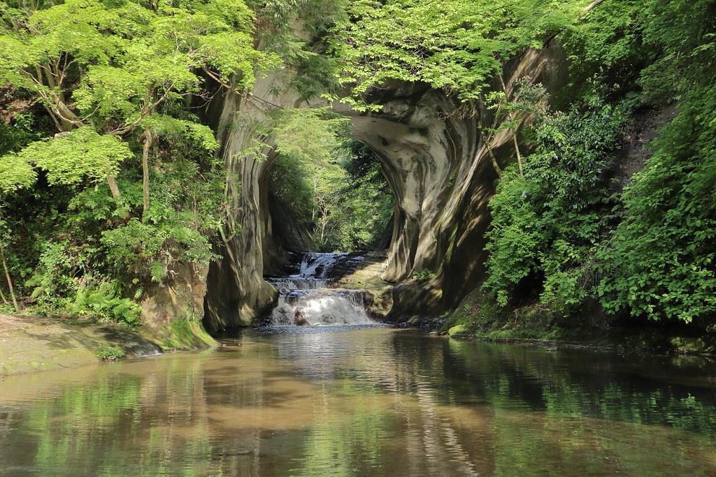 農溝の滝6