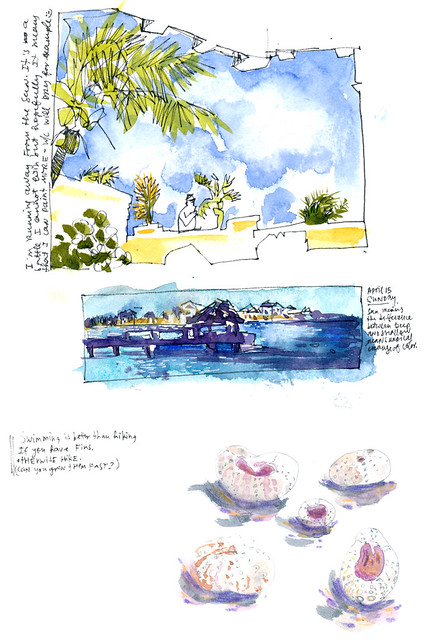 Sketchbook #113: Trip to Bonaire