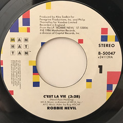 ROBBIE NEVIL:C'EST LA VIE(LABEL SIDE-A)