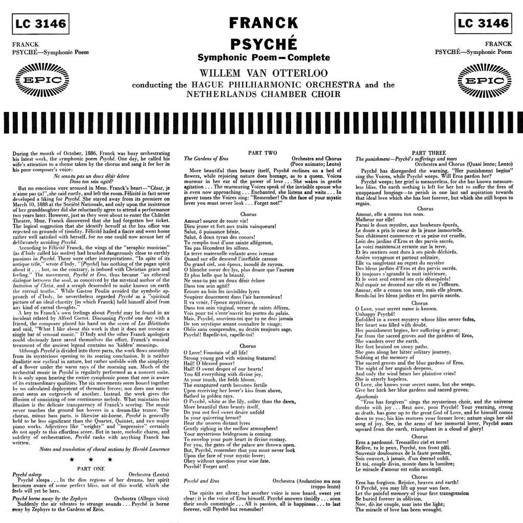 César Franck - Psyché