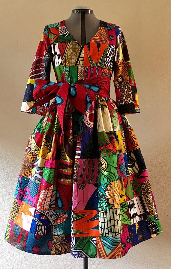 TRIBAL WRAP THROW   African fashion, African print dresses