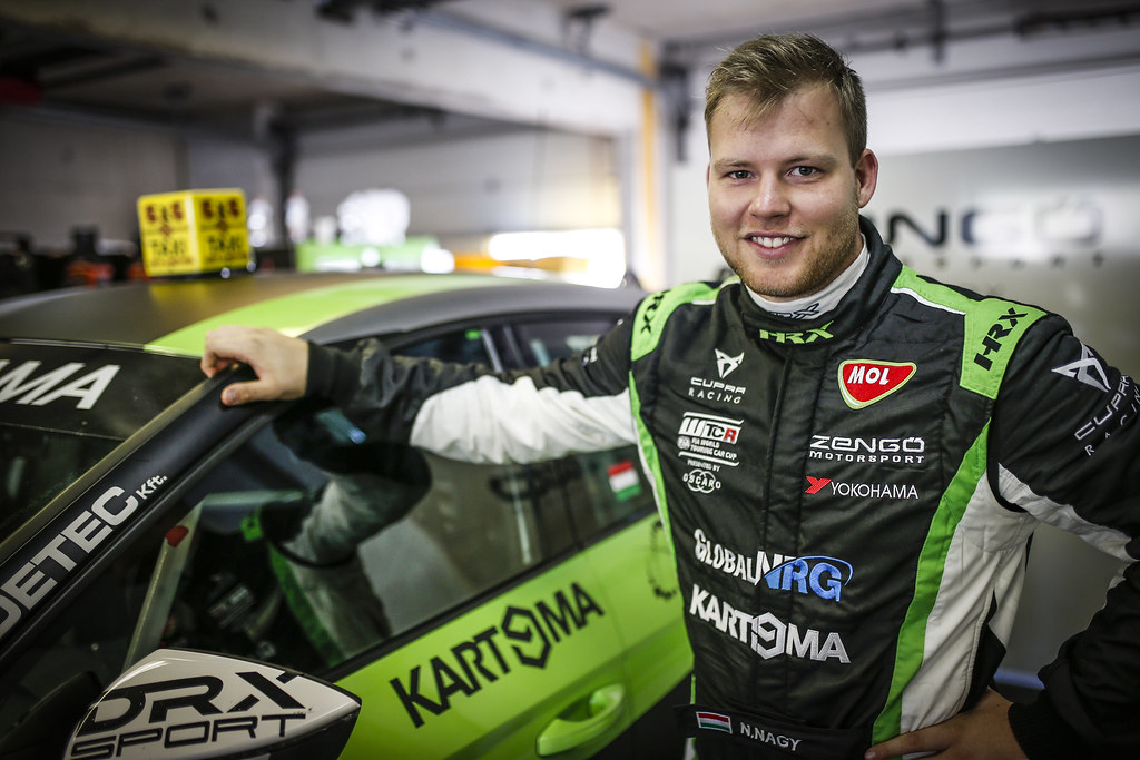 NAGY Norbert, (hun), Seat Cupra TCR team Zengo Motorsport, portrait during the 2018 FIA WTCR World Touring Car cup of Zandvoort, Netherlands from May 19 to 21 - Photo Jean Michel Le Meur / DPPI