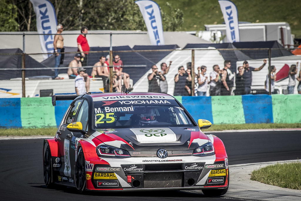 25 BENNANI Mehdi (MAR), Sebastien Loeb Racing, Volkswagen Golf GTI TCR, action during the 2018 FIA WTCR World Touring Car cup, Race of Hungary at hungaroring, Budapest from april 27 to 29 - Photo Gregory Lenormand / DPPI