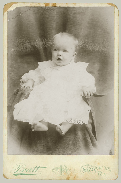 Cabinet Card baby on  chair