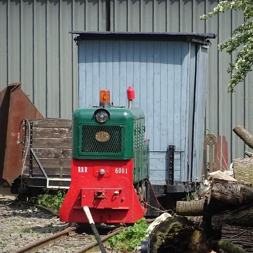 RRR Diesellocomotive N° 6001.