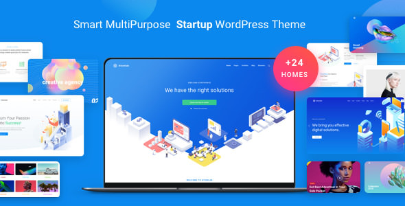 Atomlab v1.5.4 - Multi-Purpose Startup WordPress Theme