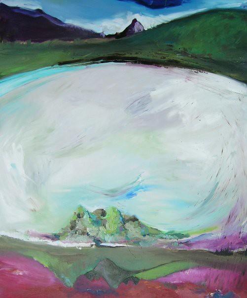 Eau Claire - 150x120 cm. Oil on canvas 2008