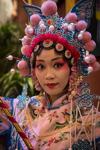Chinese opera muse