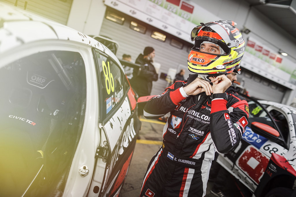 GUERRIERI Esteban (ARG), ALL-INKL.COM Munnich Motorsport, Honda Civic  TCR, portrait during the 2018 FIA WTCR World Touring Car cup of Nurburgring, Germany from May 10 to 12 - Photo Francois Flamand / DPPI