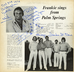 Frankie Sings From Palm Springs (BC)