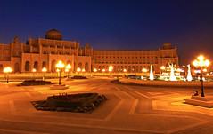 Blue hour in Sharjah