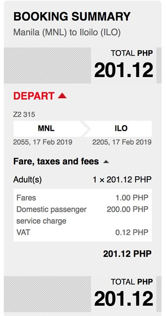 Manila to Iloilo AirAsia Red Hot Sale