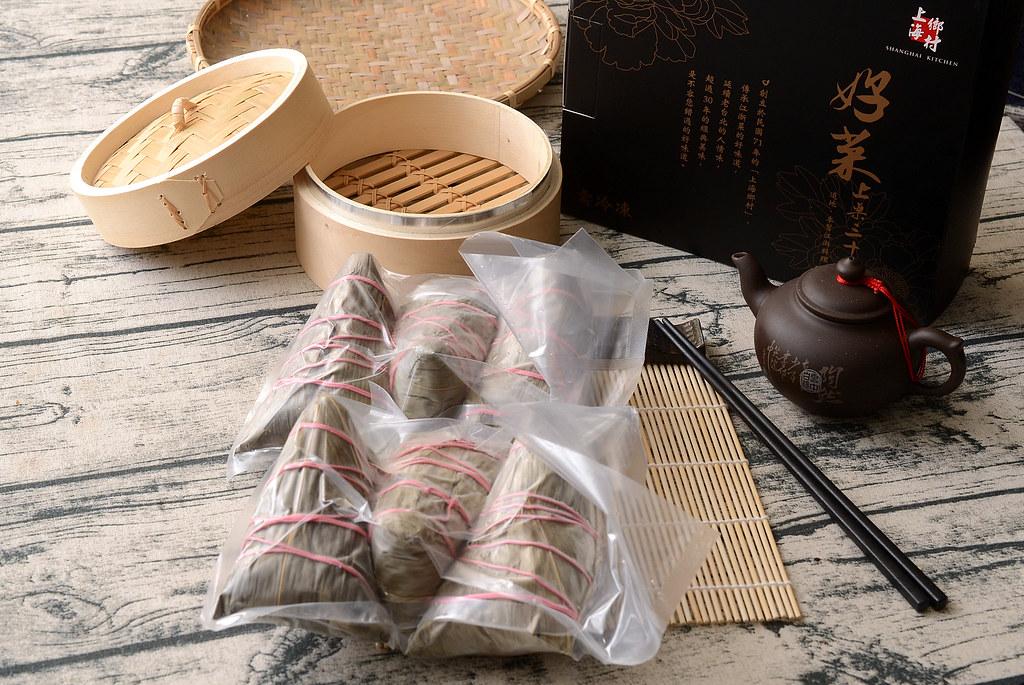 上海鄉村雪蓮子干貝厚粽