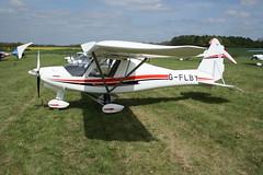 G-FLBY Ikarus Comco C-42 (1302-7239) Popham 040514