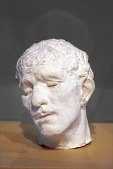 Tête de Pierre de Wissant par Auguste Rodin (Musée français de la Carte à jouer, Issy