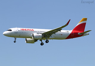 F-WWIG 1st Airbus A320 Néo Iberia