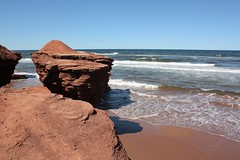 Sandstone Cliffs- Lower Darnley, PEI