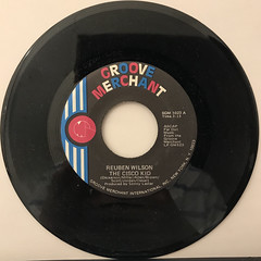 REUBEN WILSON:THE CISCO KID(RECORD SIDE-A)