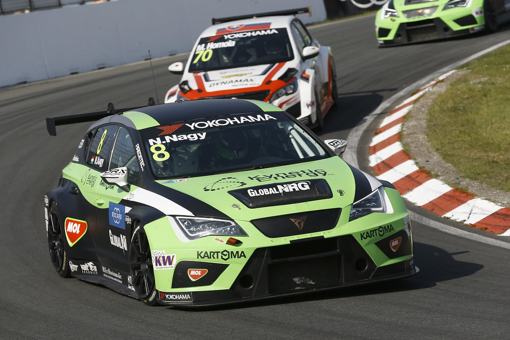 08 NAGY Norbert, (hun), Seat Cupra TCR team Zengo Motorsport, action during the 2018 FIA WTCR World Touring Car cup of Zandvoort, Netherlands from May 19 to 21 - Photo Jean Michel Le Meur / DPPI