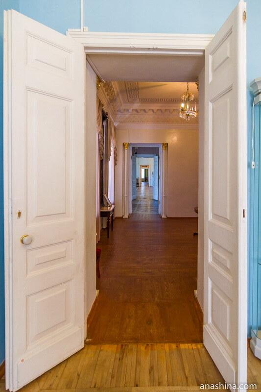 Анфилада жилых комнат, Полотняный Завод