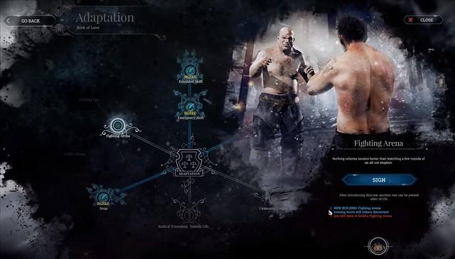 Frostpunkt - Fighting Arena