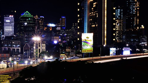 canon eos 750d rebel t6i dslr landscape color colour street shot travel trip outdoor noflash explore efs 1855 stm night nightshot lowlight highiso slowshutter darkbackground blackbackground light metro metropolis city cityscape modern building skyscraper tower architecture design structure exterior icon landmark hirise sky skyline horizon jakarta indonesia capitalcity dki dkijakarta java southeast asia sea south hotel room view anhotel satrio kasablanka jlnt fly over longexposure cbd karet mulia ascott apartment condo