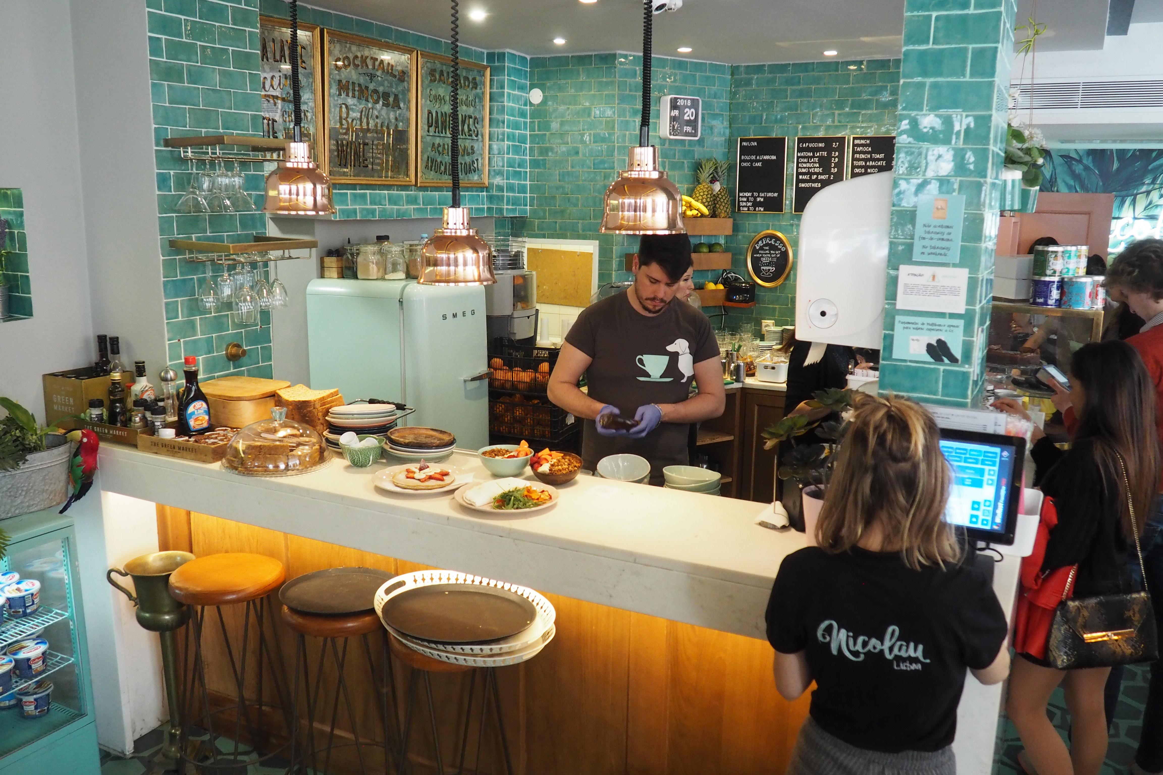Nicolau Cafe Lisbon