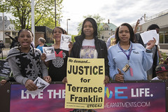 Memorial Rally for Terrance Mookie Franklin