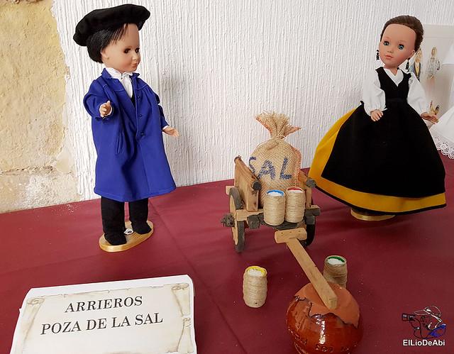 Colección en miniatura de los trajes tradicionales en la provincia de Burgos  (14)