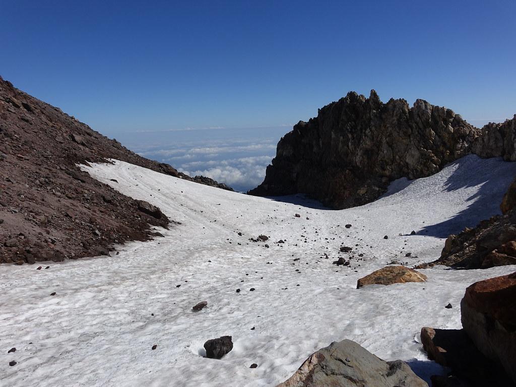 Mount Taranaki crater