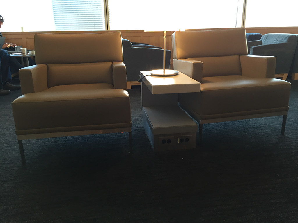 United Business Class Lounge for Business Class Customers