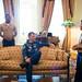 Astronauts Randy Bresnik and Paolo Nespoli Visit Marine Corps Barracks (NHQ201805070009) by NASA HQ PHOTO