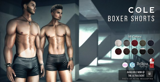 NEW! COLE Boxer Shorts @ ULTRA