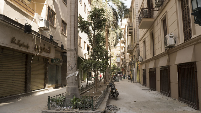 passageways renovated in Downtown Cairo