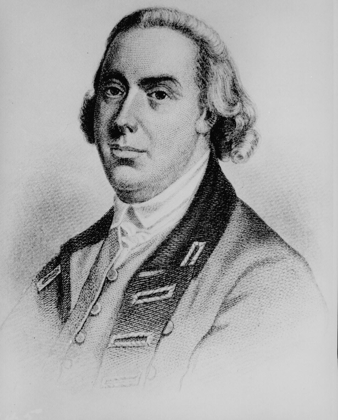 British General Thomas Gage.