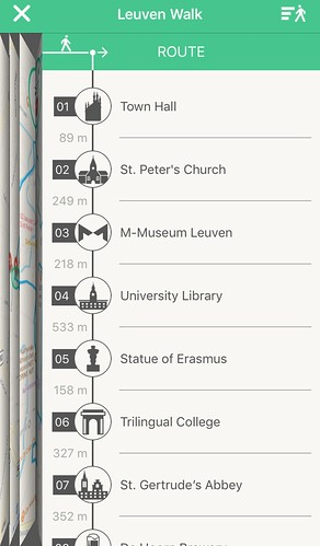 Leuven Walk App