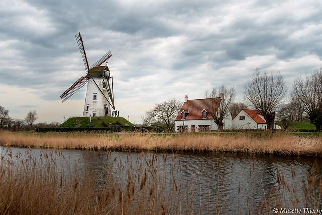 Moulin de Damme Belgique.