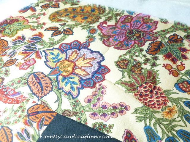 Freehand Loop Quilting at From My Carolina Home