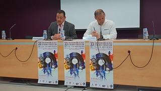 33ª Feria Internacional del Disco de Valladolid-Castilla y León. Rueda de Prensa
