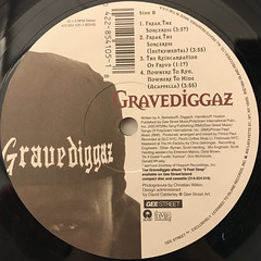 GRAVEDIGGAZ:NOWHERE TO RUN, NOWHERE TO HIDE(LABEL SIDE-B)
