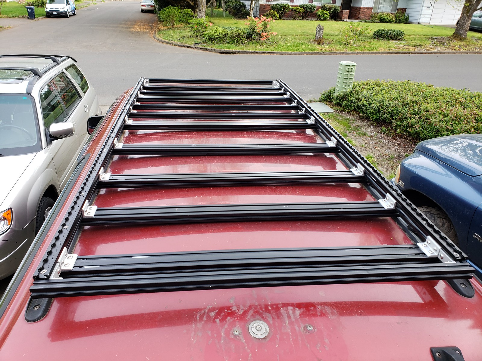 Diy Aluminum Roof Rack Build Yotatech Forums