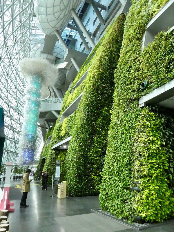Green Wall, Seoul City Hall